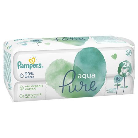 Slika za Pampers® Dječje vlažne maramice Pampers Aqua Pure 2x48 komada
