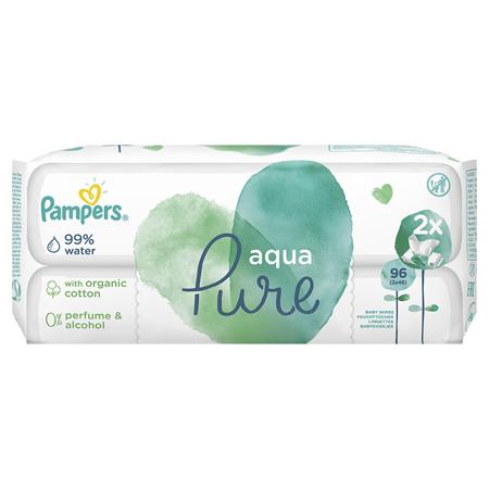 Pampers® Dječje vlažne maramice Pampers Aqua Pure 2x48 komada