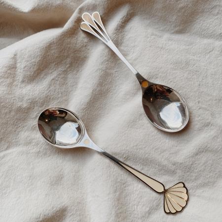 Slika za Konges Sløjd® Žlica od pravog srebra Clover