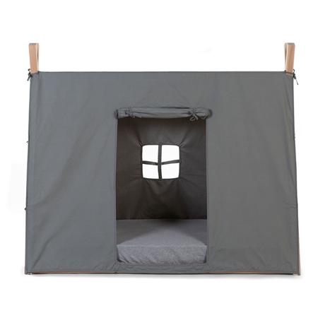 Childhome® Navlaka za okvir postelje Tip Grey 140x70