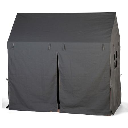 Childhome® Navlaka za okvir postelje Antracite 140x70