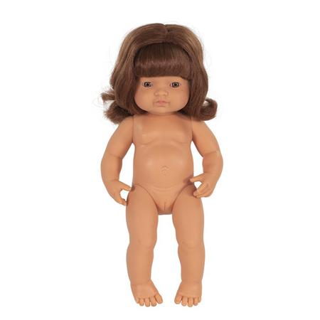 Miniland® Lutka Redhead Girl 38cm