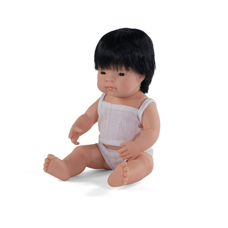 Slika za Miniland® Lutka Asian Boy 38cm