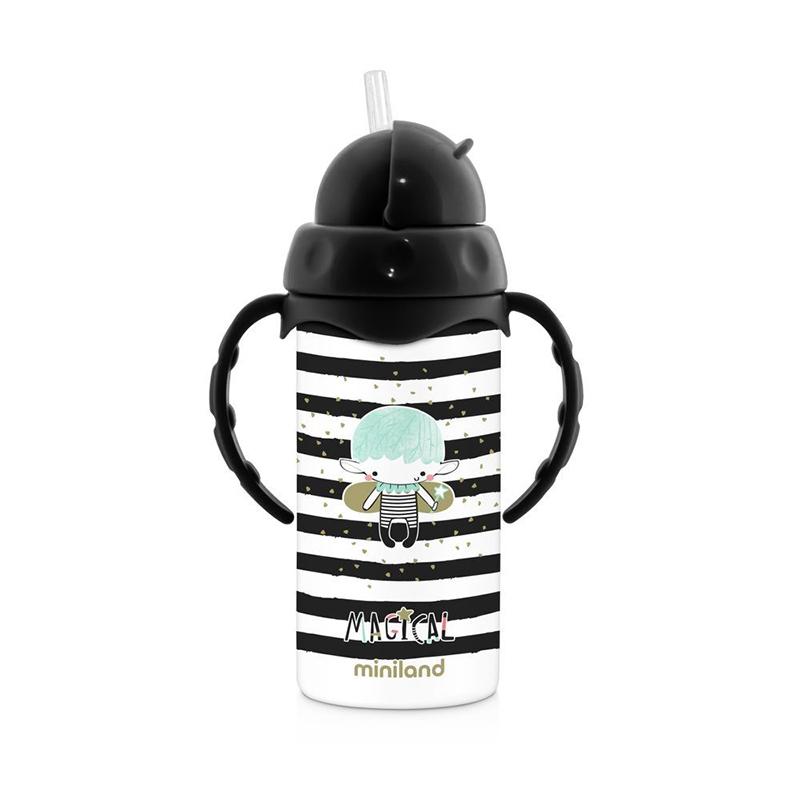 Slika za  Miniland® Termo bočica sa slamkom Magical 240ml