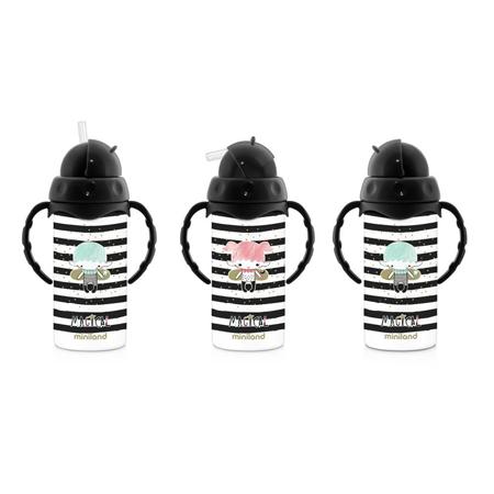 Miniland® Termo bočica sa slamkom Magical 240ml