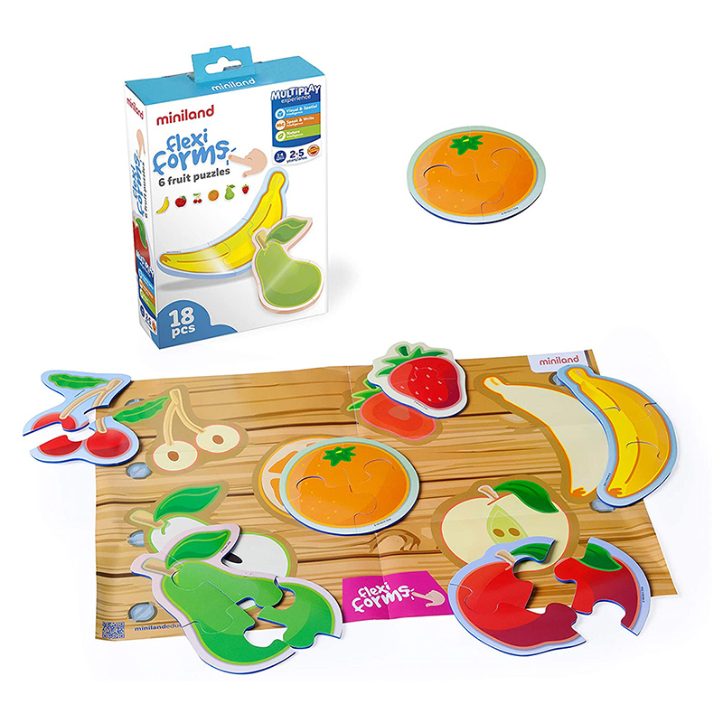Slika za Miniland® Društvena igra Flexiform 6 Fruit