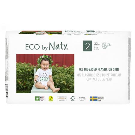 Slika za Eco by Naty® Ekološke pelene 2 (3-6 kg) 33 komada