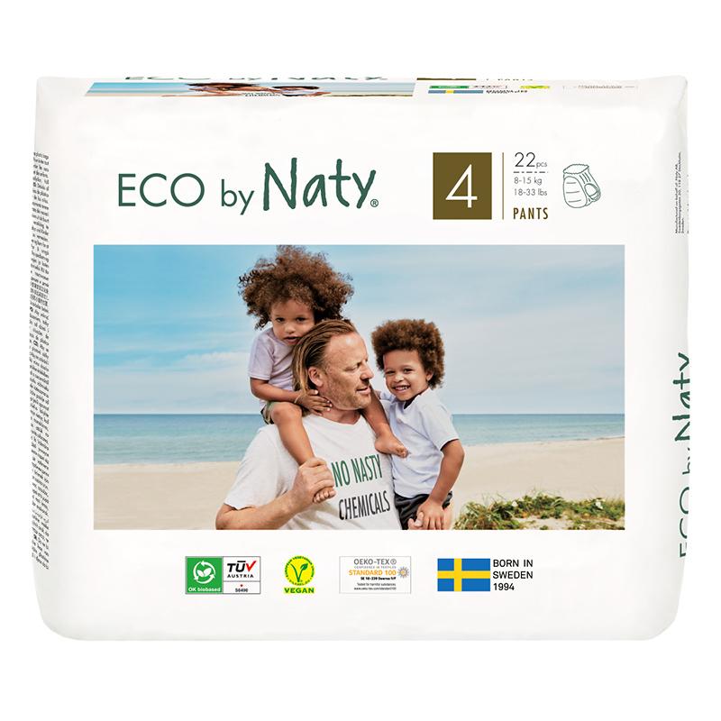 Slika za Eco by Naty® Pelena gačice 4 (8-15 kg) 22 komada