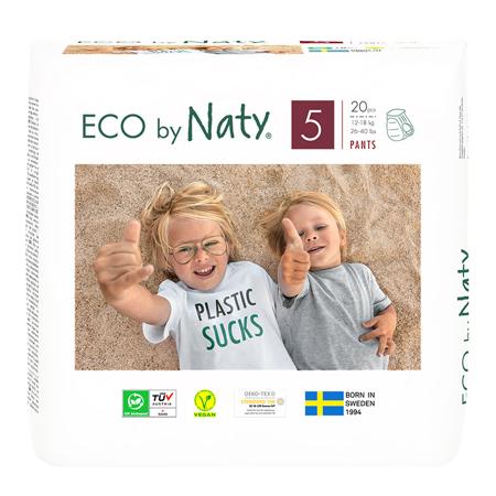 Slika za Eco by Naty® Pelena gačice 5 (12-18 kg) 20 komada