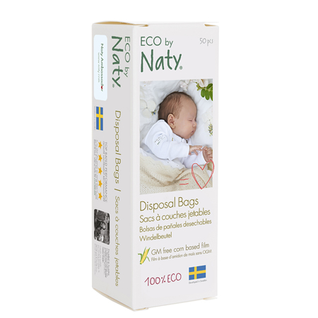 Eco by Naty® Razgradiva vrećica za pelene 50 komada