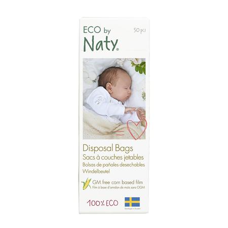Slika za Eco by Naty® Razgradiva vrećica za pelene 50 komada