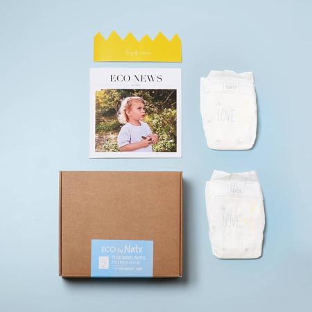 Eco by Naty® Probna kutija  2 (3-6 kg) 10 komada