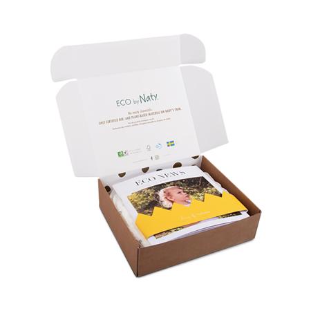 Eco by Naty® Probna kutija 4 (7-18 kg) 10 komada