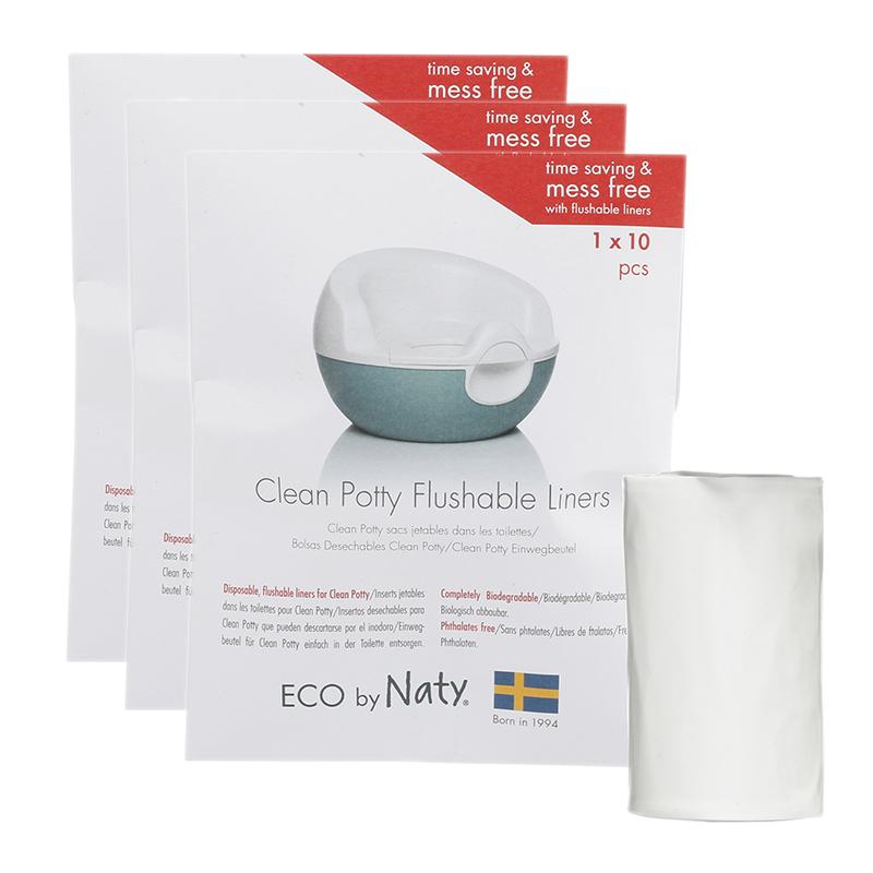Slika za Eco by Naty® Biorazgradive vrećice za kahlicu Potty Liners 3x10 komada