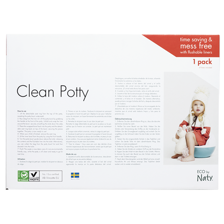 Slika za Eco by Naty® Kahlica Plant based Potty