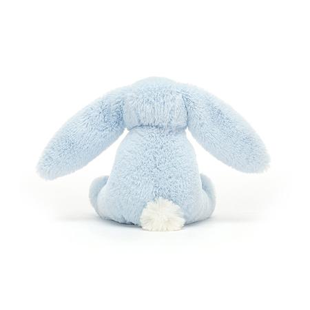 Slika za  Jellycat® Plišani zec s drvenim obručem Bashful Blue 13cm