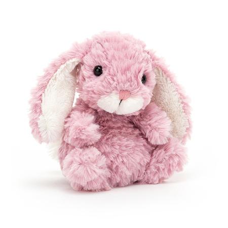 Jellycat® Plišani zec Yummy Tulip Pink 13cm