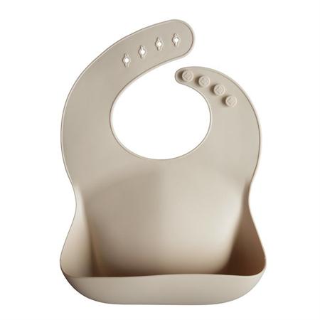 Mushie® Silikonski podbradnjak  Shifting Sand