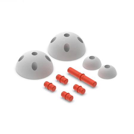 Slika za Modu® Polu krugovi Half Balls Red