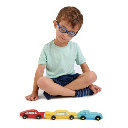 Tender Leaf Toys® Drveni automobili Retro