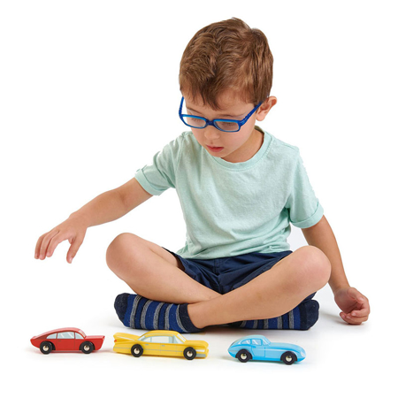 Slika za  Tender Leaf Toys® Drveni automobili Retro