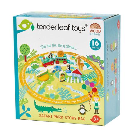 Slika za Tender Leaf Toys® Podloga za igru Safari Park