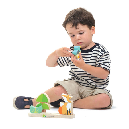 Slika za Tender Leaf Toys® Didaktička igračka Foxy Magnetic Stacker