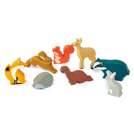 Tender Leaf Toys® Drvene šumske životinjice Woodland Animals