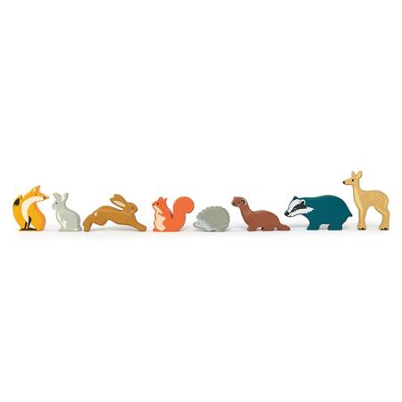 Slika za Tender Leaf Toys® Drvene šumske životinjice Woodland Animals