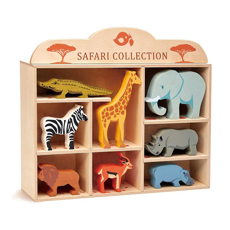 Slika za Tender Leaf Toys® Drvene životinjice Safari Collection