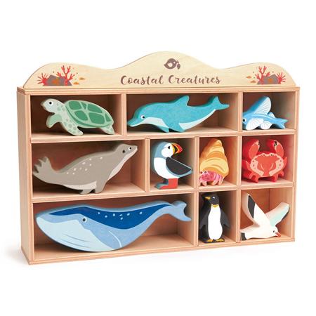 Slika za Tender Leaf Toys® Drvene vodne životinjice Coastal Creatures