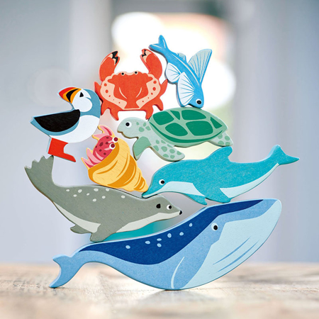 Tender Leaf Toys® Drvene vodne životinjice Coastal Creatures