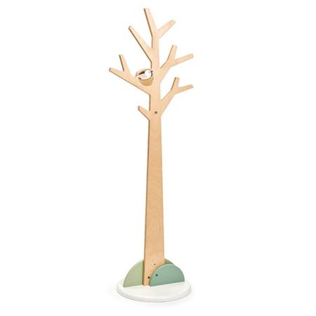 Slika za Tender Leaf Toys® Drvena visoka vješalica Forest Coat Stand
