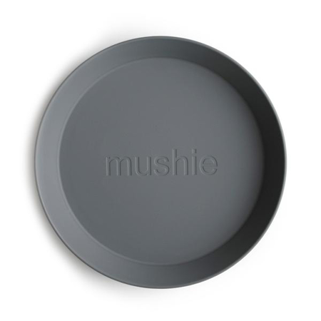 Mushie® Set dva tanjurića Smoke
