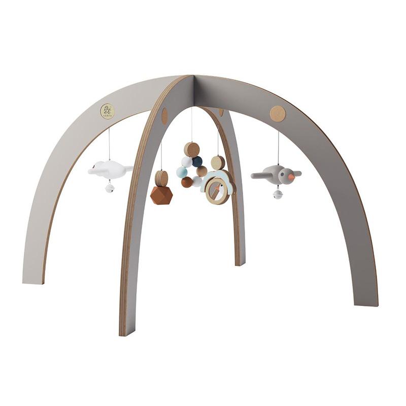 Slika za Sebra® Didaktički luk s igračkama Jetty Grey