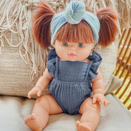 Minikane® Bodi za lutke Lou Lurex Rose 34cm
