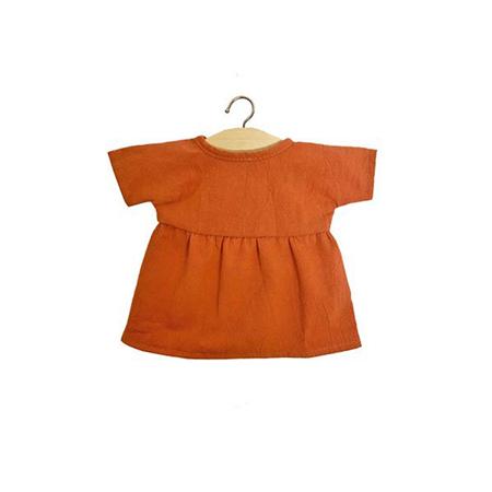 Minikane® Majica za lutke Faustine Terre de Sienne 34cm