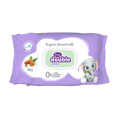 Slika za Violeta® Dječje vlažne maramice sa Bademovim uljem 56/1