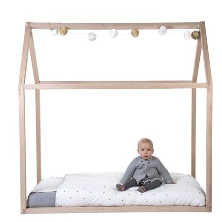 Childhome® Dječja postelja-kućica 140x70