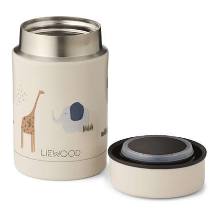 Liewood® Termo posuda Nadja Safari Sandy Mix 250ml