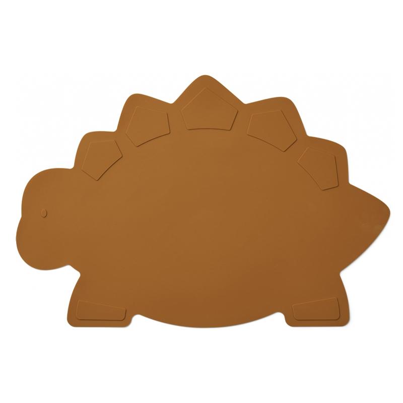 Slika za Liewood® Silikonska podloga za hranjenje Tracy Placemat Dino Mustard