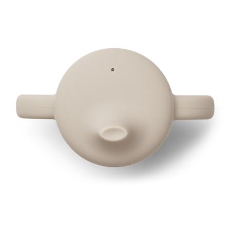 Liewood® Čašica za učenje pijenja od silikona Neil Sandy