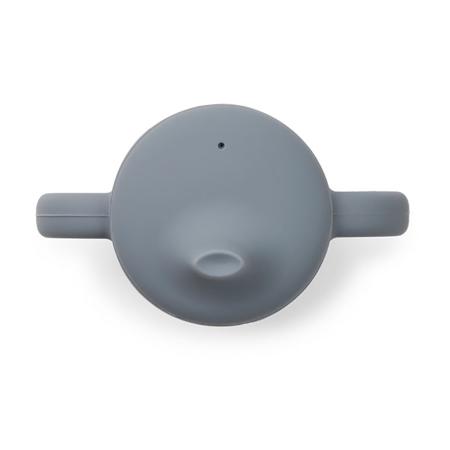 Liewood® Čašica za učenje pijenja od silikona Neil Blue Wave