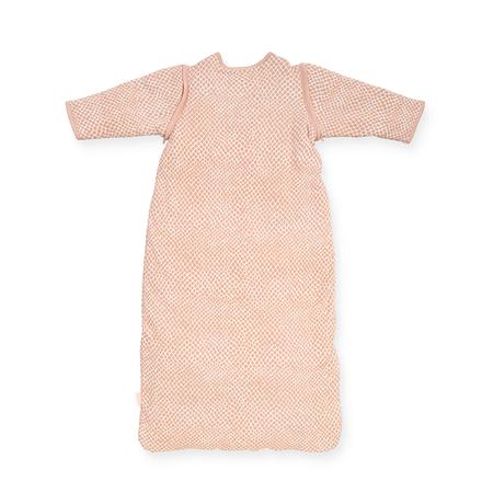 Slika za Jollein® Dječja vreća za spavanje s uklonljivim rukavima 110cm Snake Pale Pink TOG 2.0