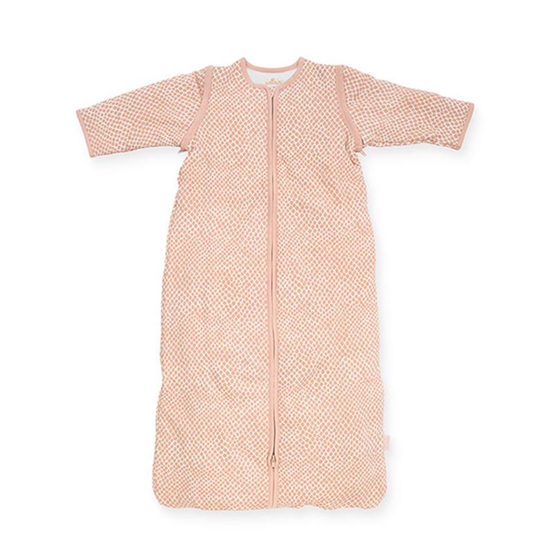 Slika za Jollein® Dječja vreća za spavanje s uklonljivim rukavima 70cm Snake Pale Pink TOG 2.0