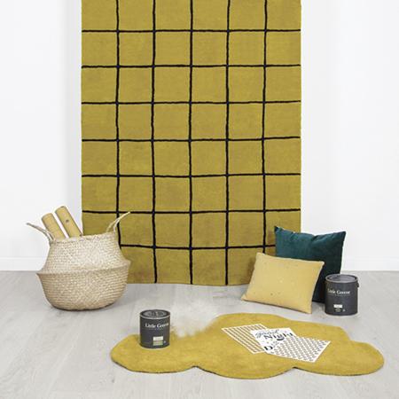 Lilipinso® Dječji tepih Cloud Mustard 100x64