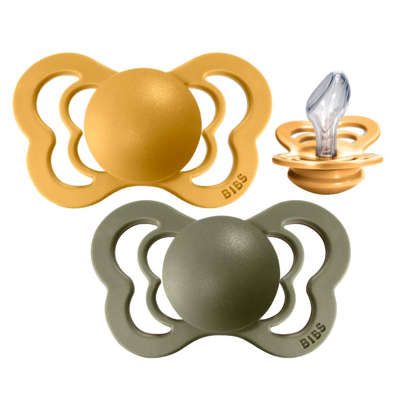 Slika za Bibs® Duda Couture Silikon Honey Bee & Olive 1 (0-6m)