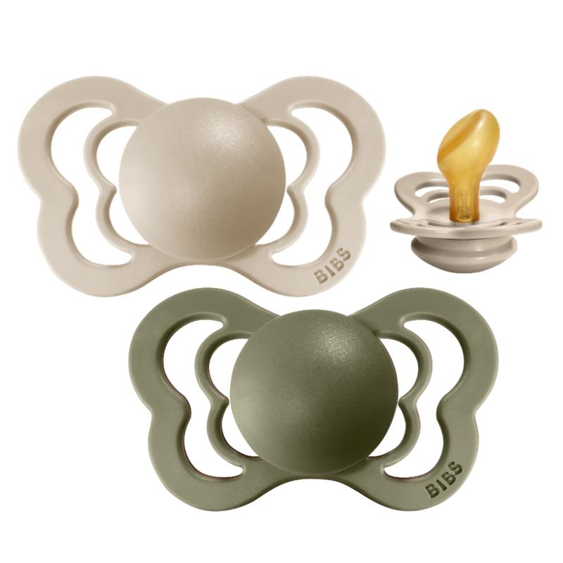 Slika za Bibs® Duda Couture Lateks Olive & Vanilla 2 (6-18m)
