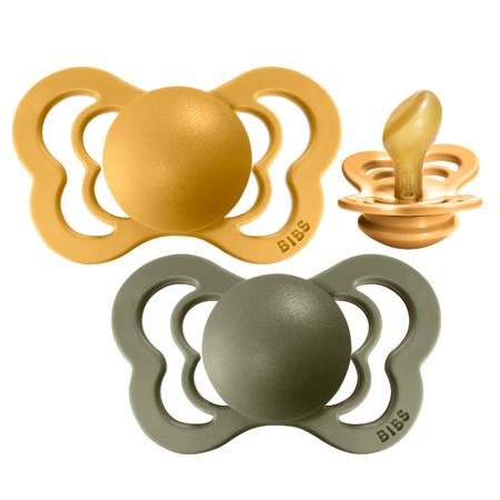 Slika za Bibs® Duda Couture Lateks Honey Bee & Olive 2 (6-18m)