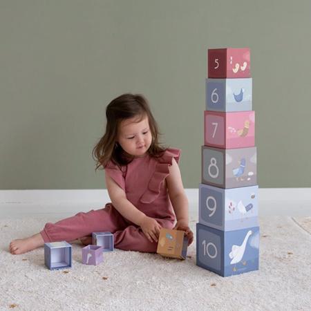 Little Dutch® Piramida od kocki Little Goose
